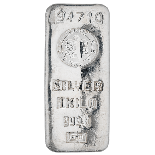 Buy 1kg silver bar in Dubai - Mint Jewels
